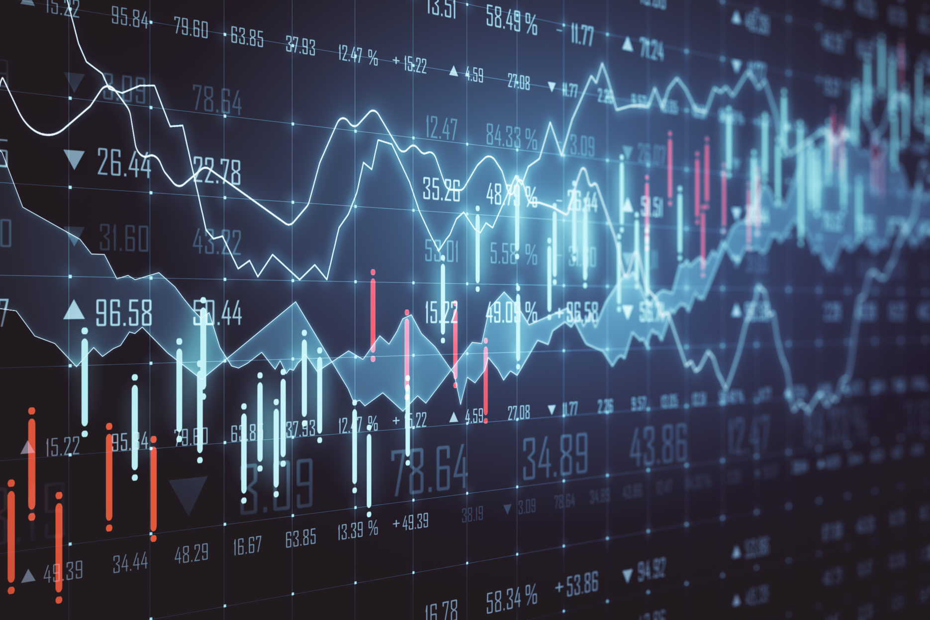 Stock exchange fluctuation