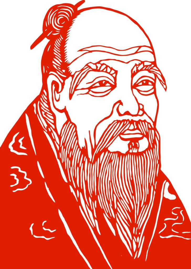 Image of Laozi.
