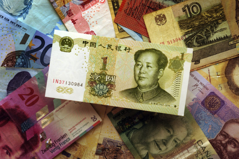 Chinese RMB notes