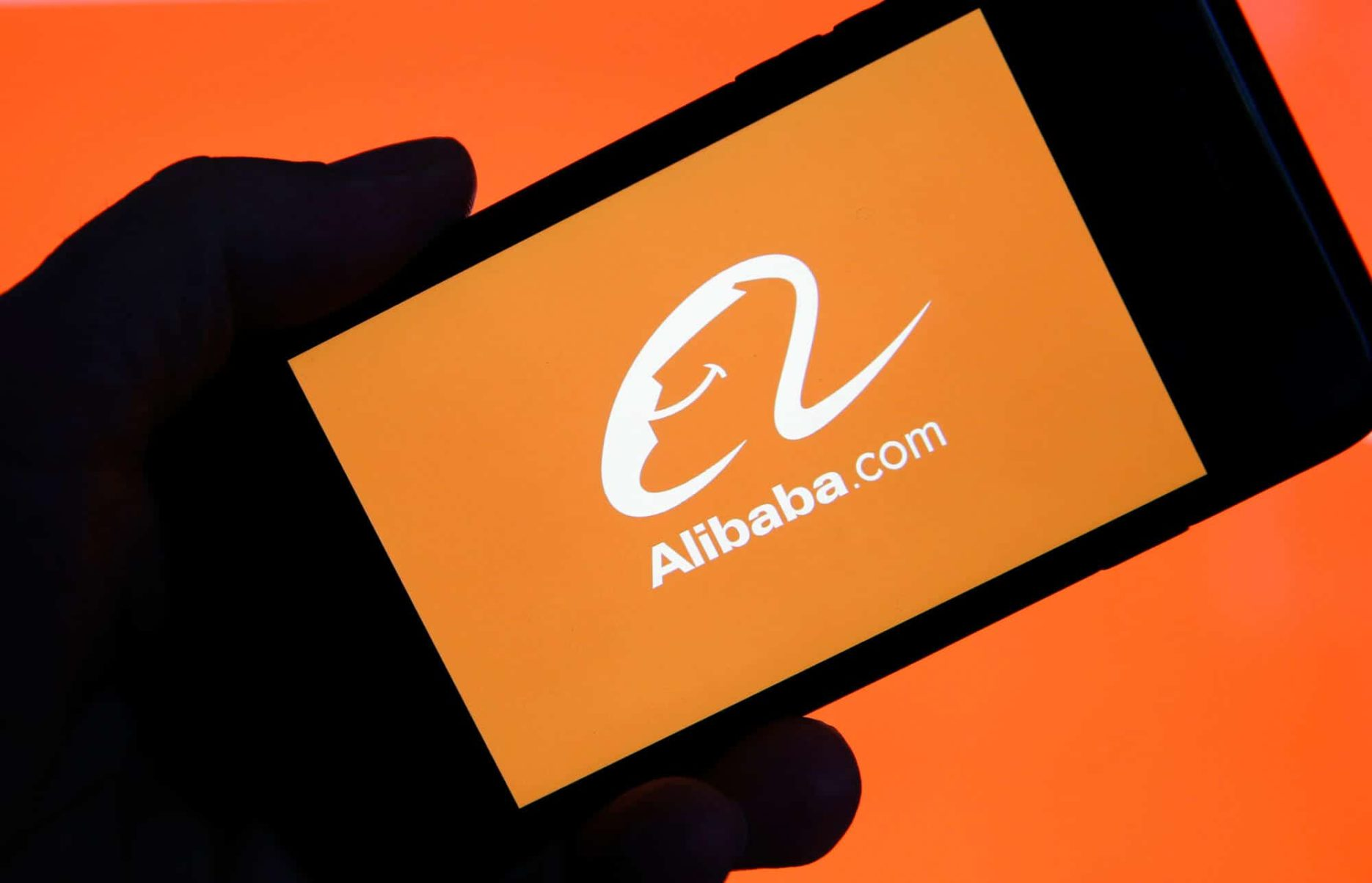 Alibaba phone screen