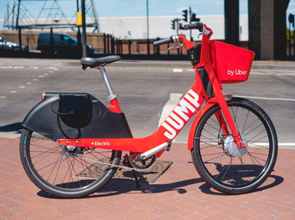Uber's Jump bike