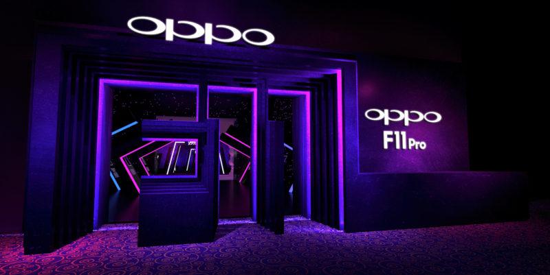 Purple OPPO store