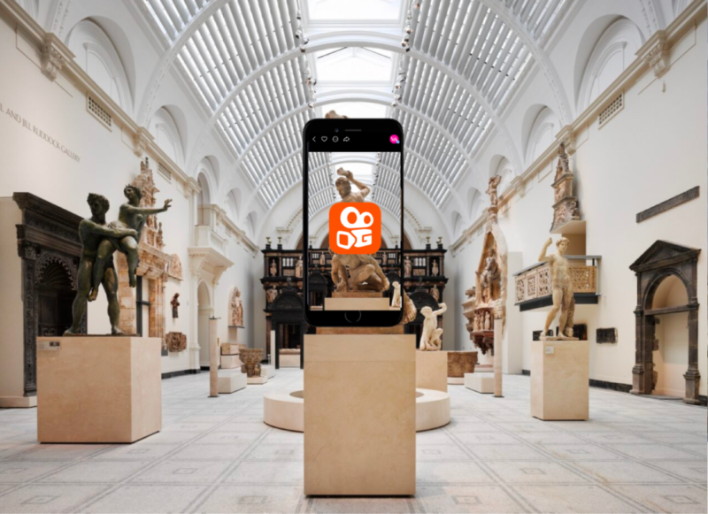 V&A museum partners with Kuaishou
