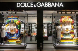 D&G store front