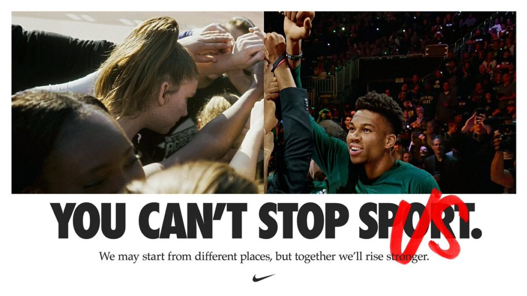 NIKE You can't stop us campaign