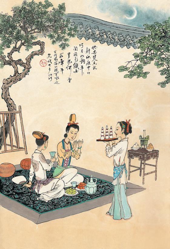 Traditional celebrations of Qixi