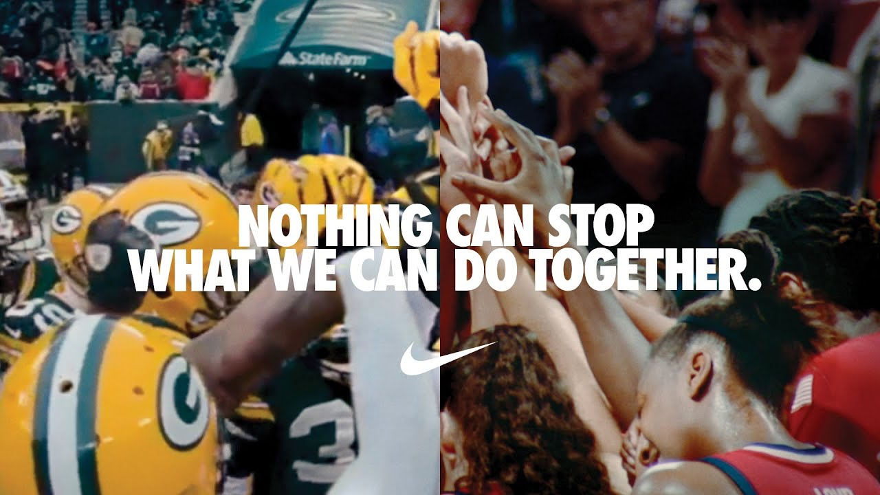 Nike campaign Nothing Can Stop US