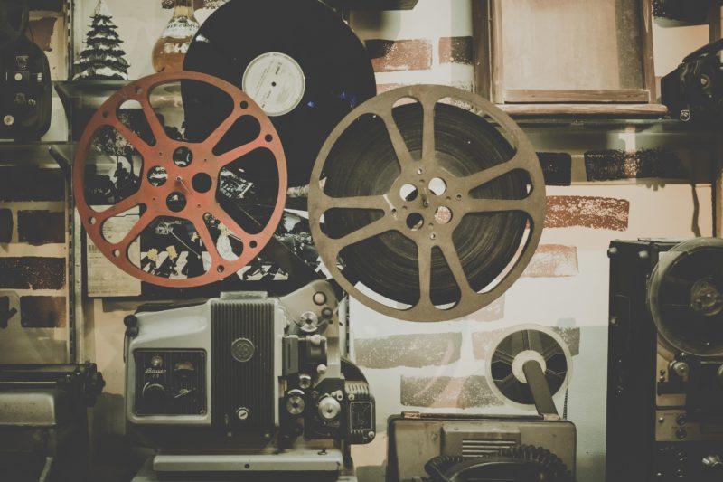 Old-school film equipment