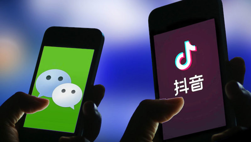 WeChat and TikTok US ban