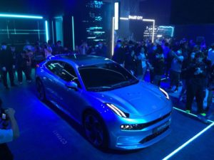 Geely's new electric vehicle