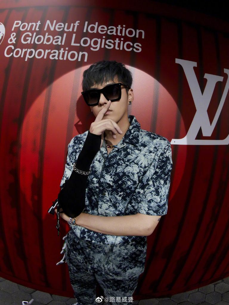 Louis Vuitton 2020 Shanghai fashion show celebrity collaboration