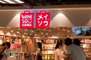 Miniso storefront