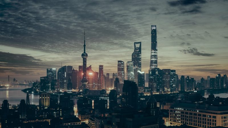 China cityscape