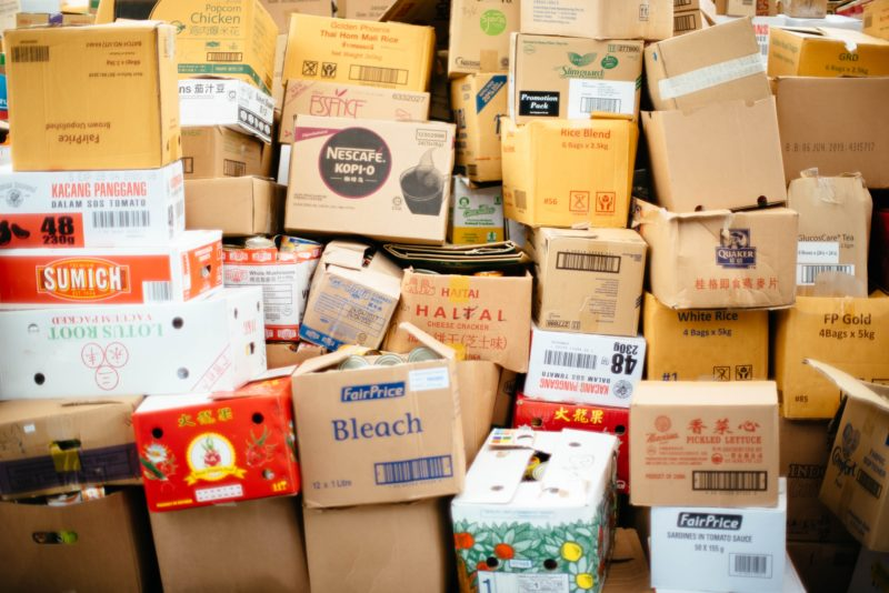 Collection of parcels