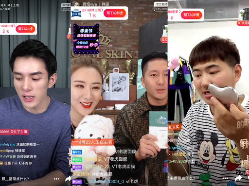 Livestreaming on Taobao