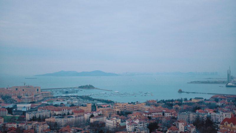 Qingdao sea front