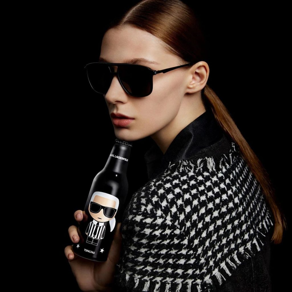 Karl Lagerfeld partners with Tsingtao beer in China