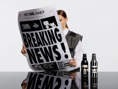 Luxury brand Karl Lagerfeld in China