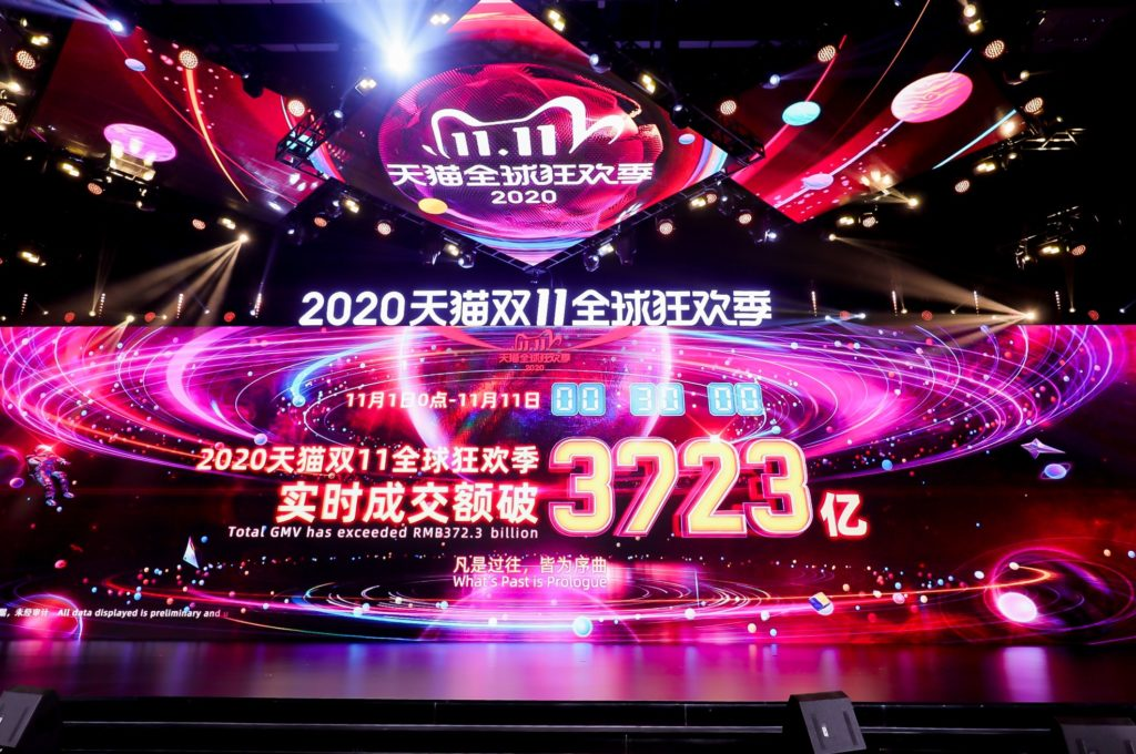 Alibaba's Singles' Day breaks records
