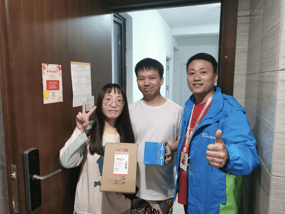 Happy customers after China's Singles' Day