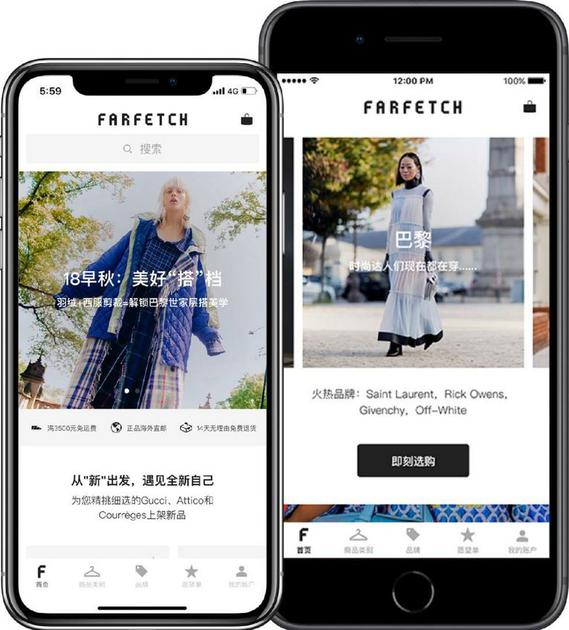 Farfetch expanding presence in China