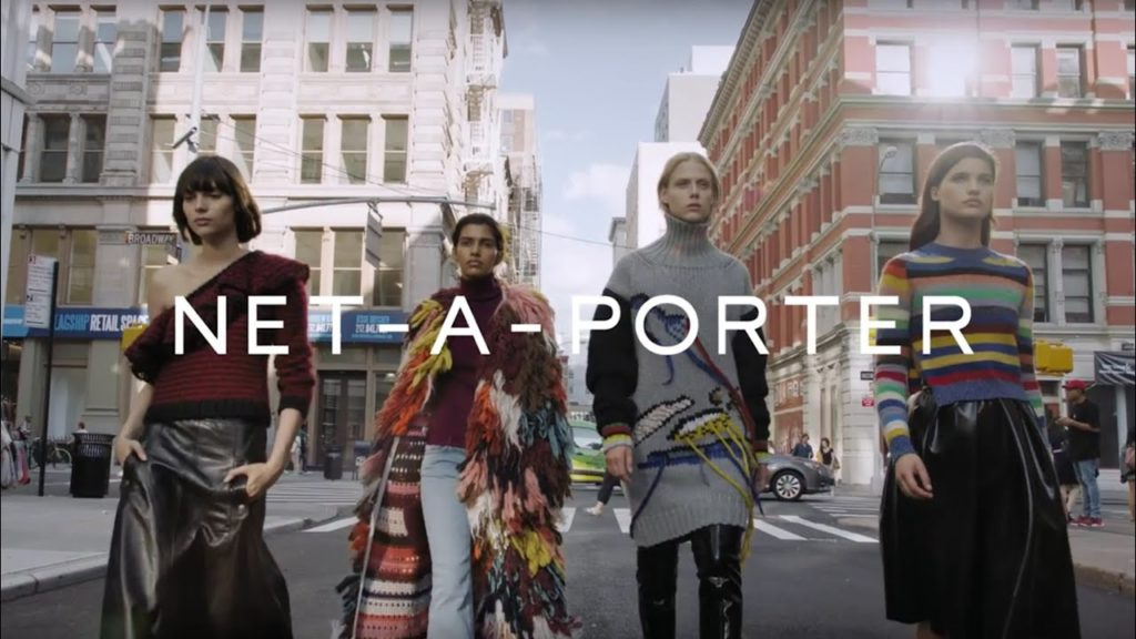 Net-A-Porter's presence in China