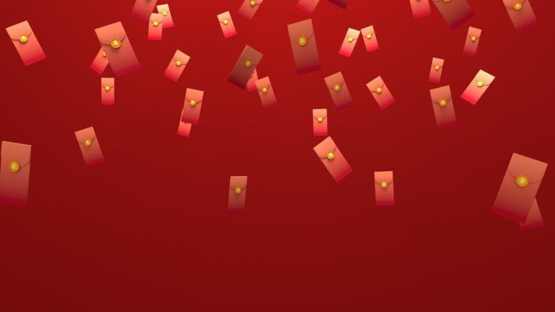 Red envelopes in China. Credit: Adobe Stock
