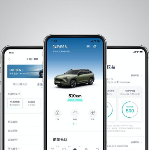 NIO's interactive app