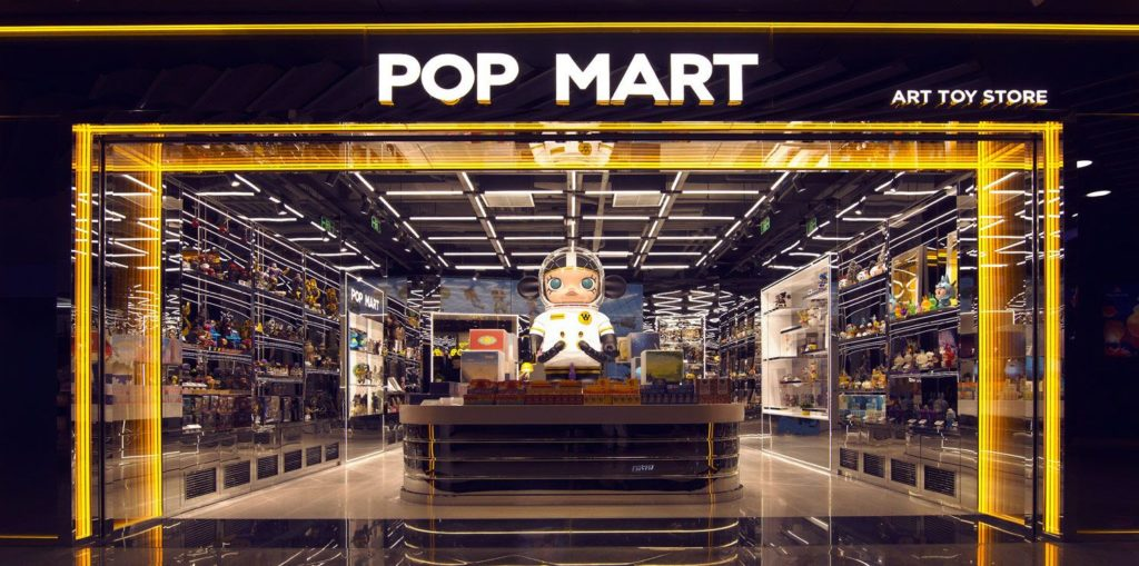 POP MART art toy store Credit: POP MART
