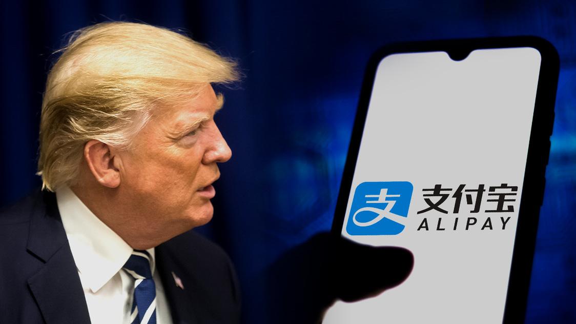 Donald Trump app ban China