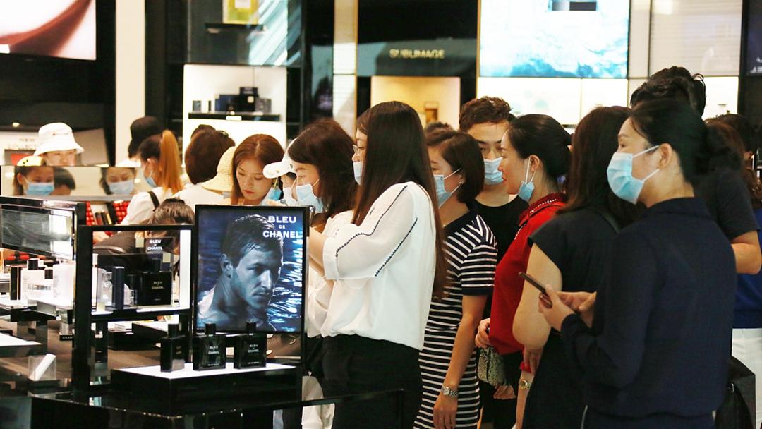 Duty free sales in Hainan. Credit: CGTN