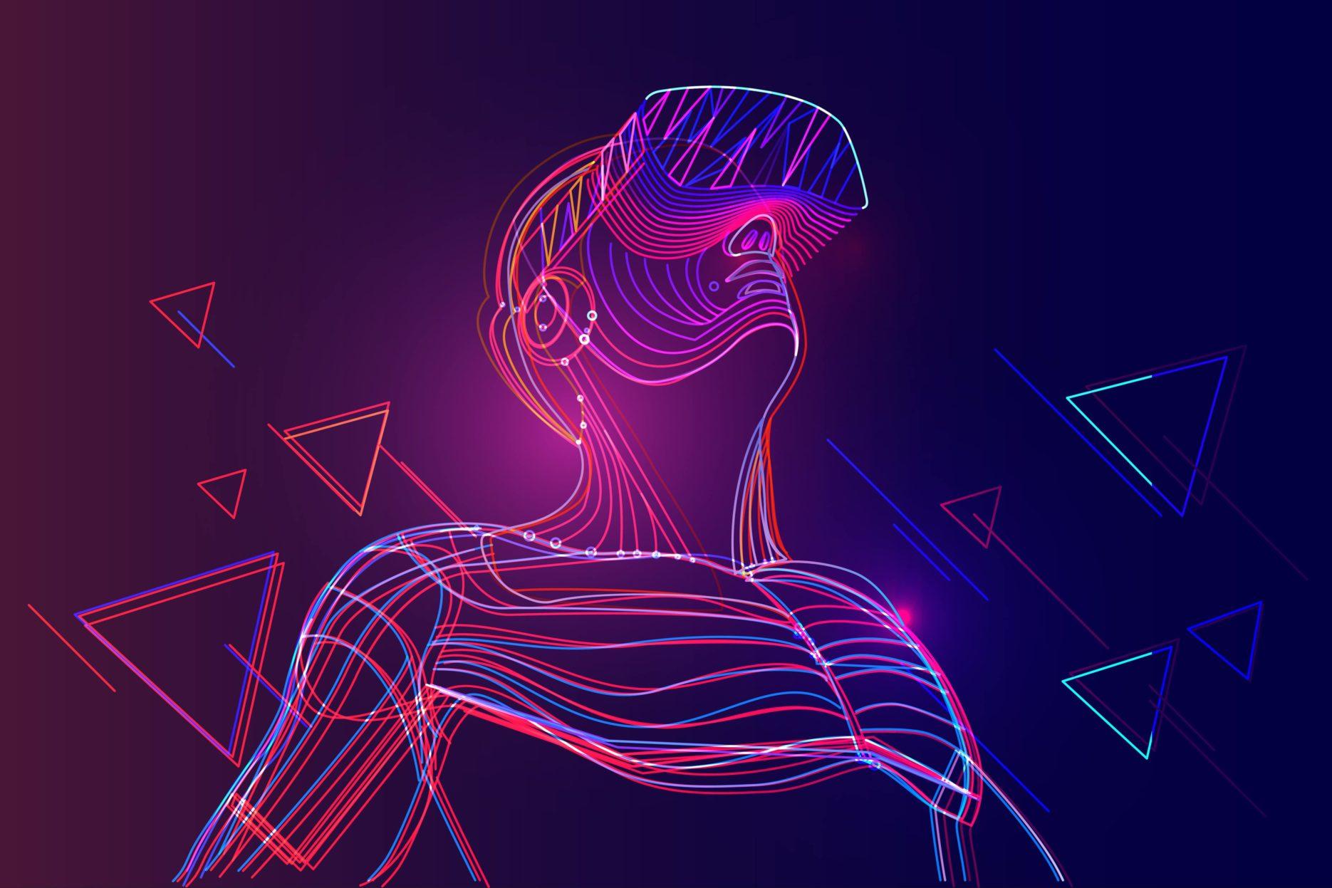 China's virtual reality. Credit: Adobe Stock
