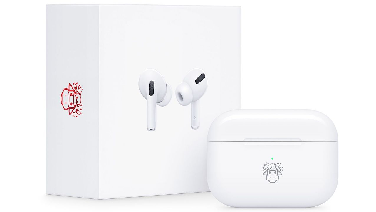 Apple's Ox Chinese New Year Airpods. Credit: Apple