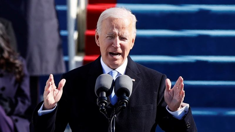 Chinese Netizens React to Biden's Inauguration Credit: CBC