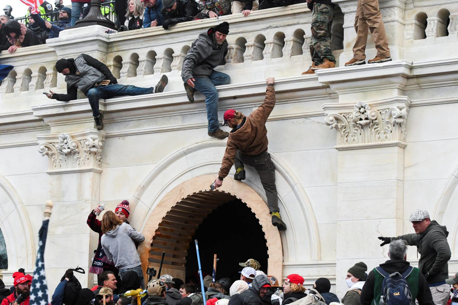 China responds to Capitol riot. Credit: REUTERS