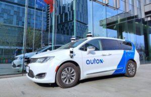 Self-driving taxi. Credit: AutoX