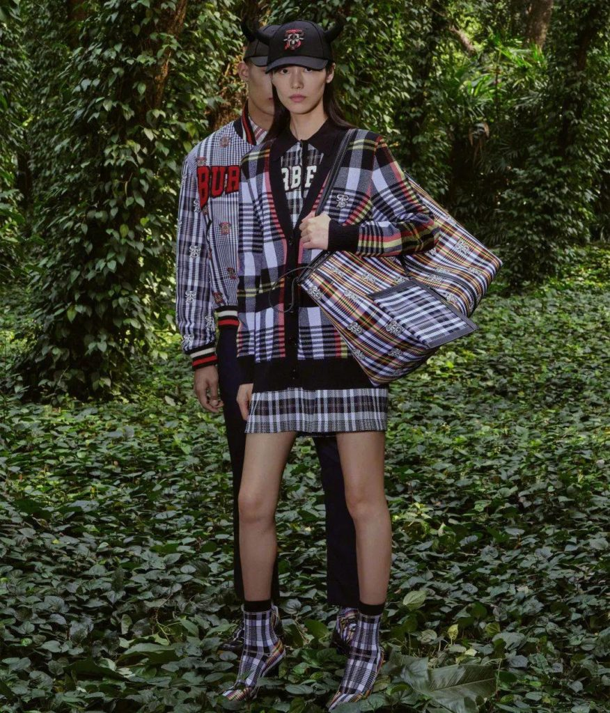 Burberry Chinese New year 2021 collection