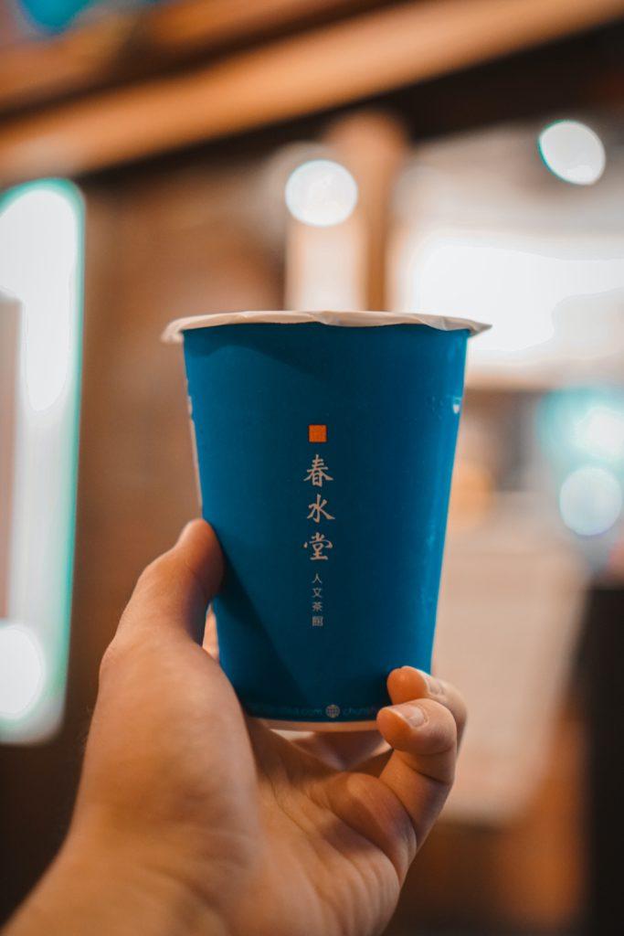 Bubble tea's popularity in China