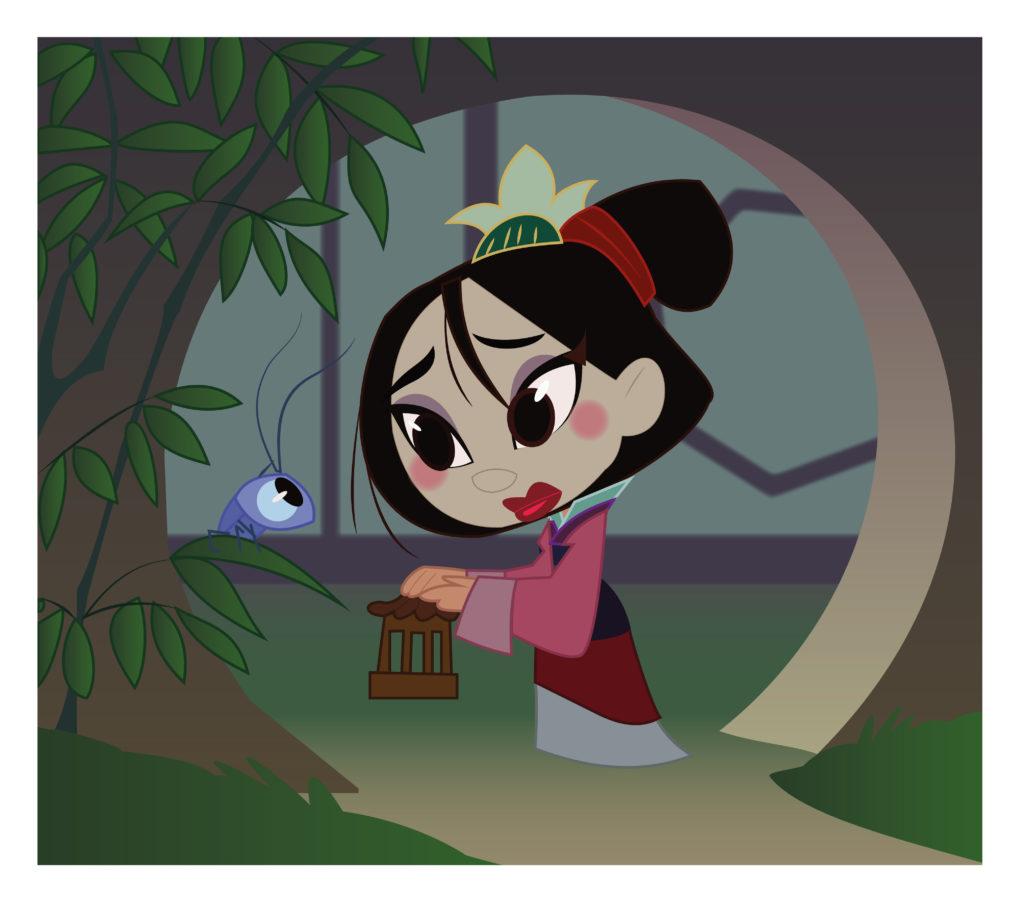 Mulan cartoon