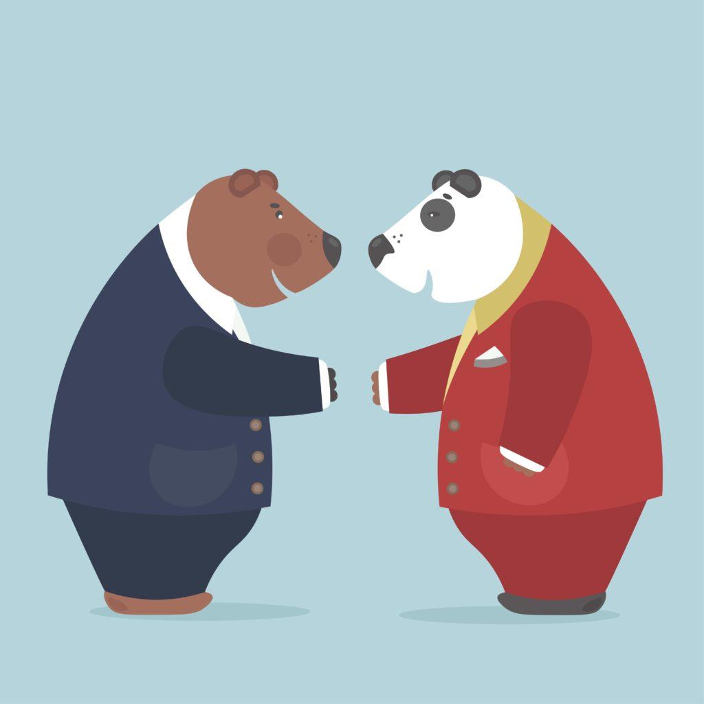 Panda diplomacy. Credit: Adobe Stock
