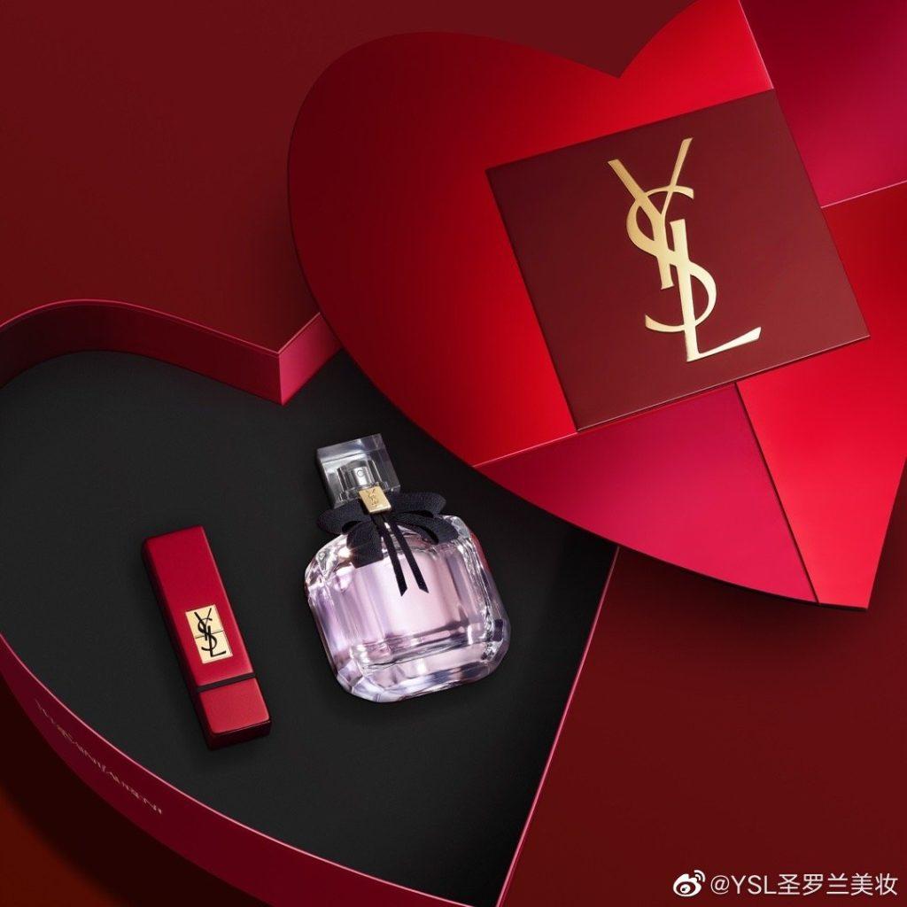 YSL Valentine's Day campaign Credit: YSL