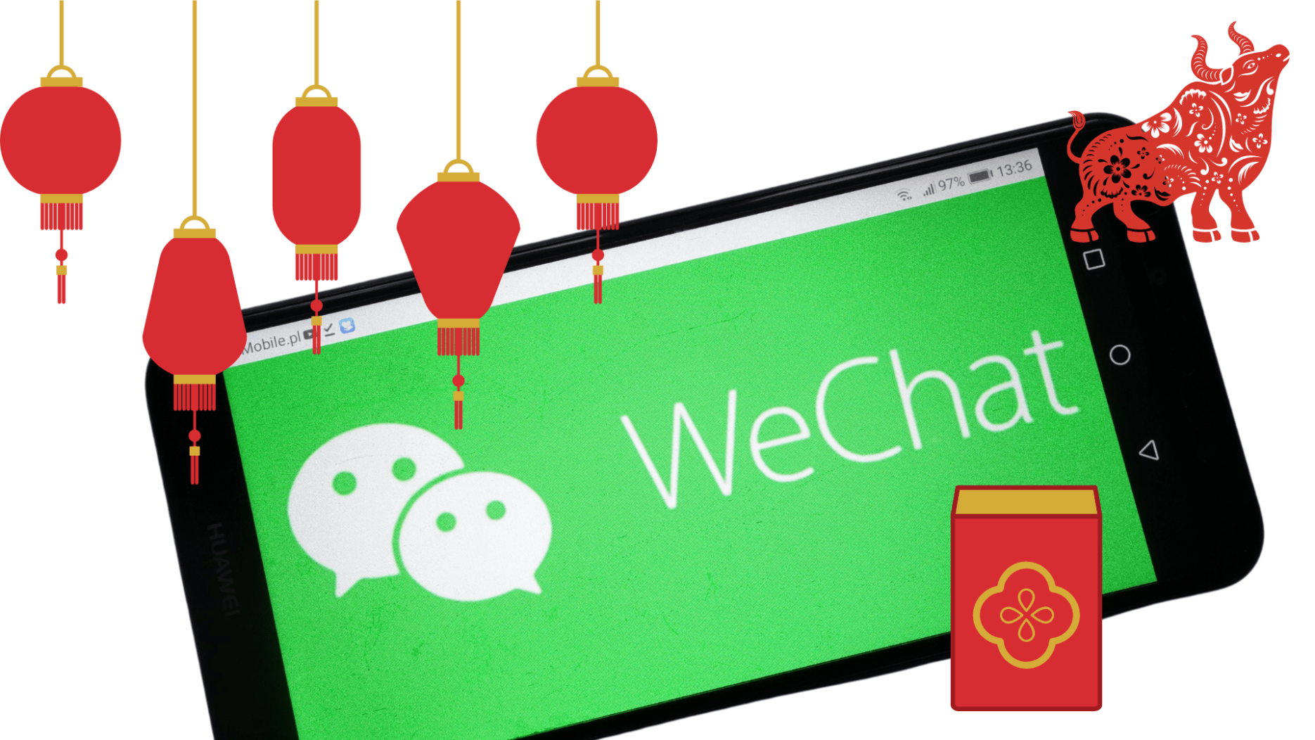 WeChat Chinese New Year campaign
