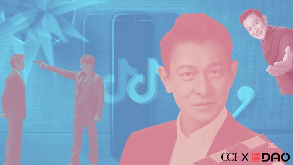 Andy Lau premieres on Douyin