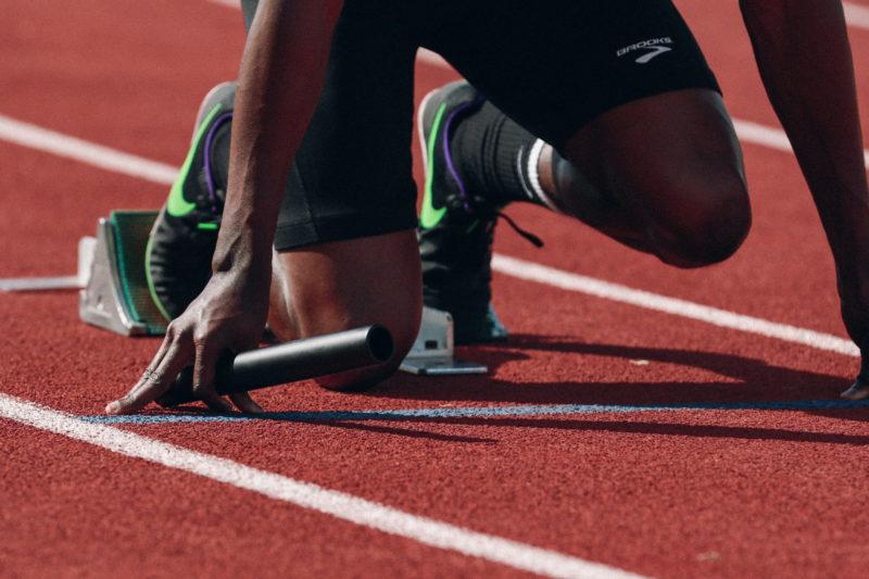 Running track. Credit: Unsplash