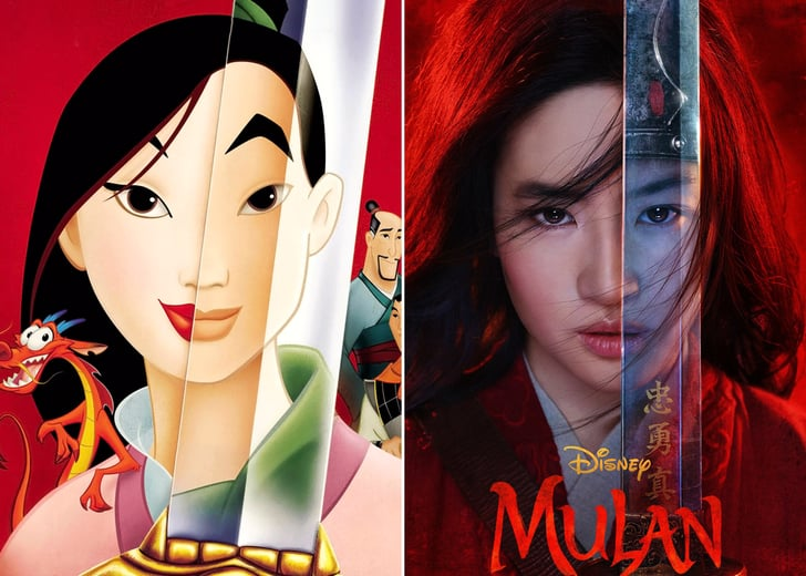 Mulan's Disney Adaptations. Credit: POPSUGAR