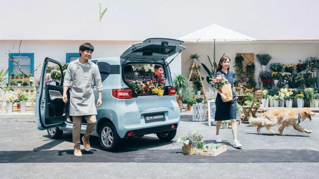 Wuling's MINI EV in China