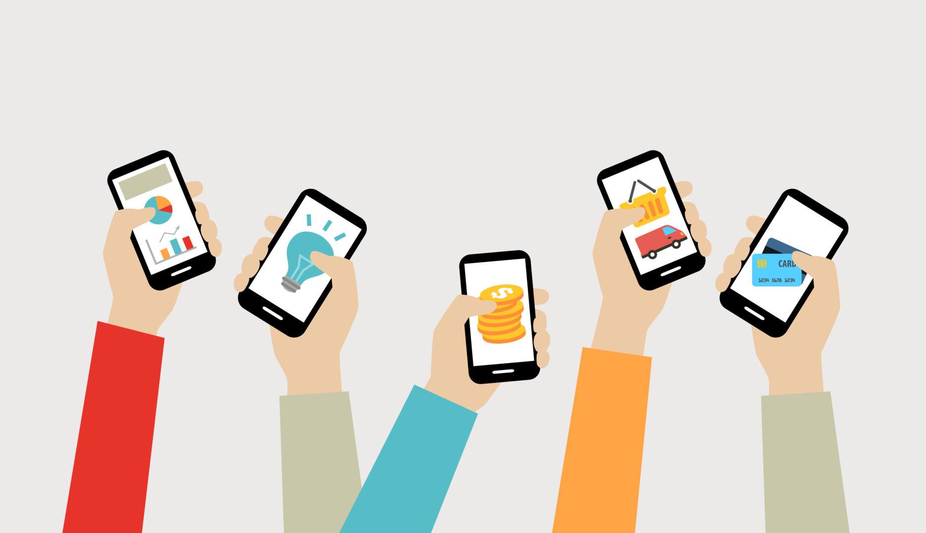 Mobile e-commerce. Credit: Adobe Stock