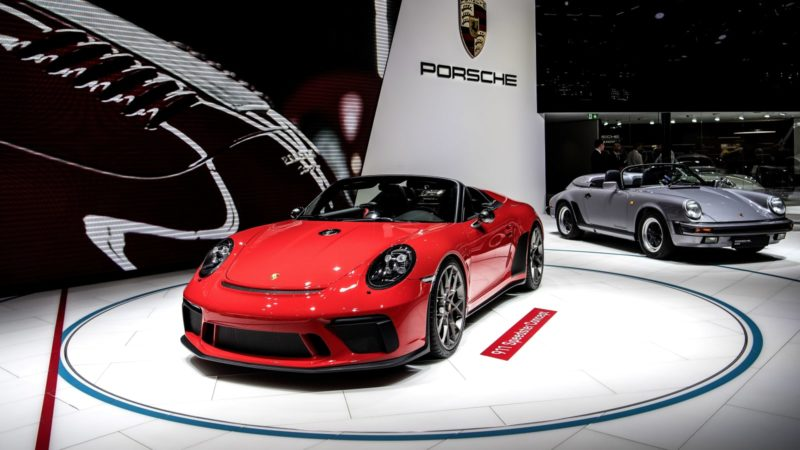 Porsche financial report. Credit: CNBC