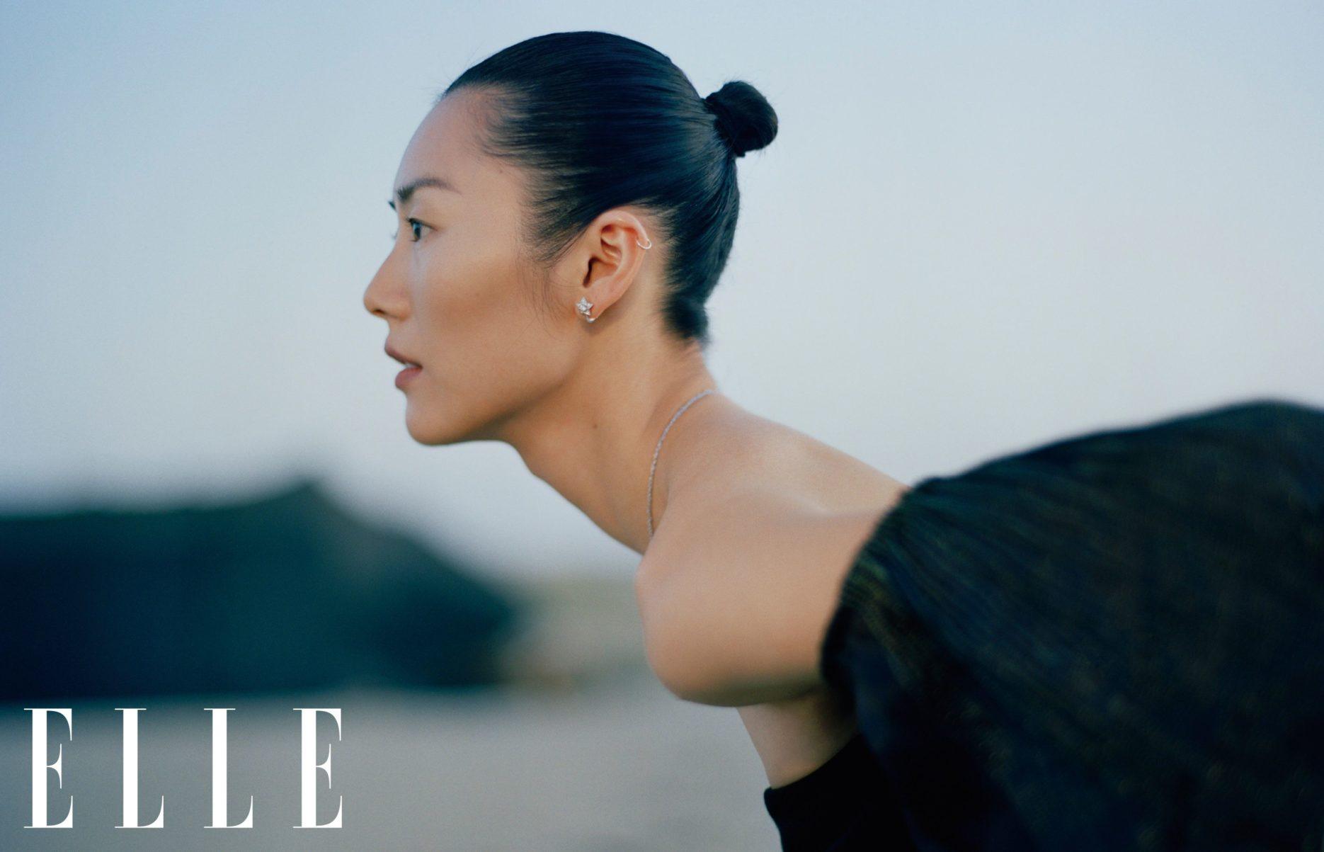 Supermodel Liu Wen. Credit: ELLE