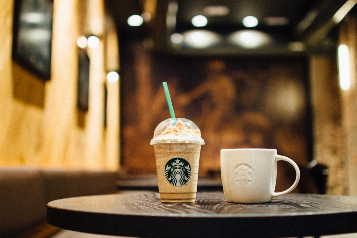 Starbucks coffee. Credit: English daily